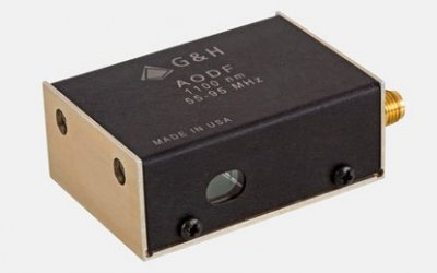 Acousto-optical deflectors