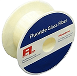 Double cladding fluoride fiber